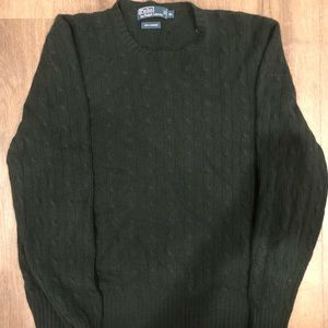 Polo by Ralph Lauren Cashmere Knit Sweater Sz XL